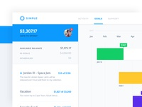 Simple Goals Dashboard