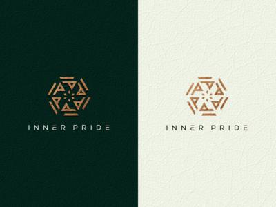 iner pride 1 brand identity monoline monogram logo monogram logo initial logo initial grid design corporate