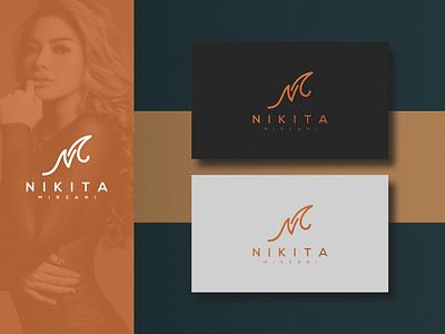NIKITA MIRZANI lettering nikitamirzani logo design luxury brand identity monoline monogram logo monogram logo initial logo initial grid design corporate