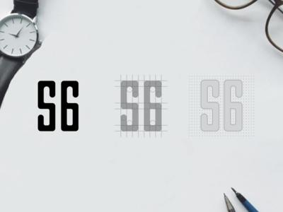 546 negative space logo