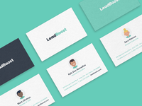 Leadboost Brand Identity // Characters Animations