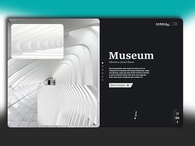Architect Agency ux ui agency webdesign landing page architect
