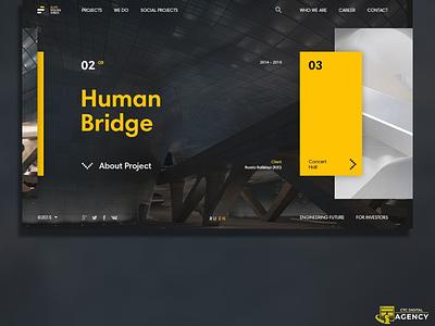 The Architecture agency digital ui ux web design architecture