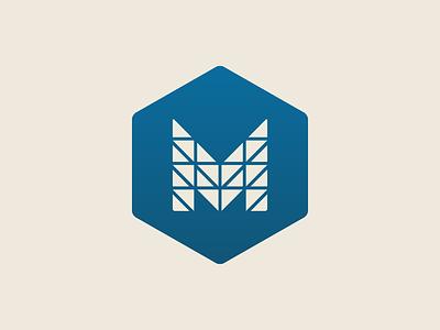 Marwynn simple monogram symbol brand logo