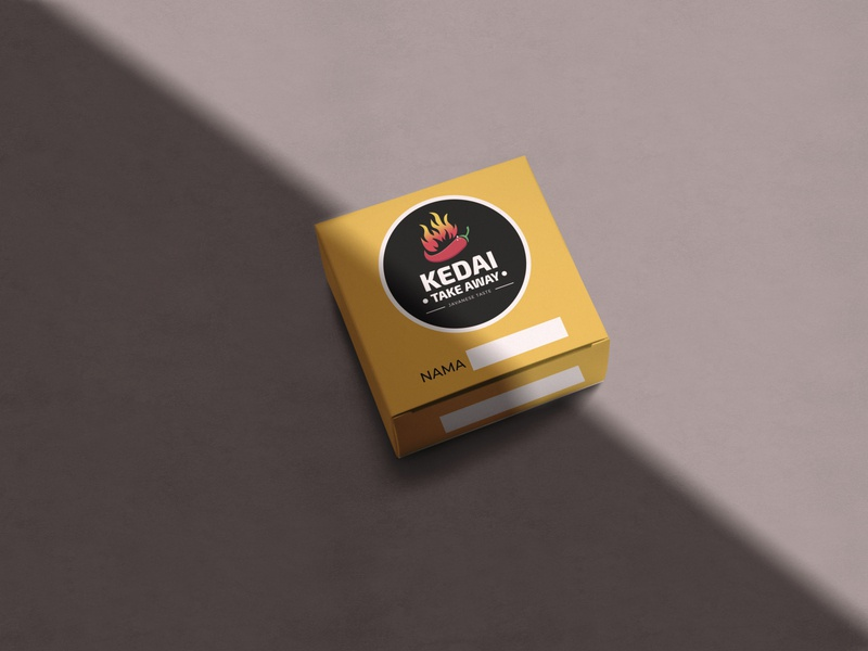 PACKAGING BOX | LOGO KEDAI TAKEAWAY