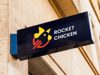 Redesign Logo | Rocket Chicken