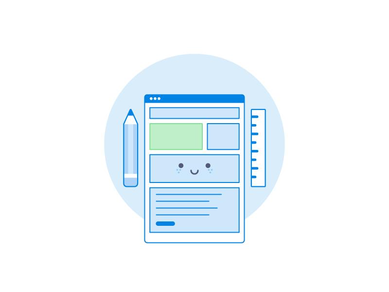 Design icon in Dropbox style design dropbox everyday icon