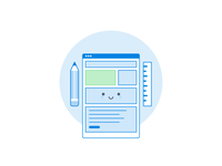 Design icon in Dropbox style