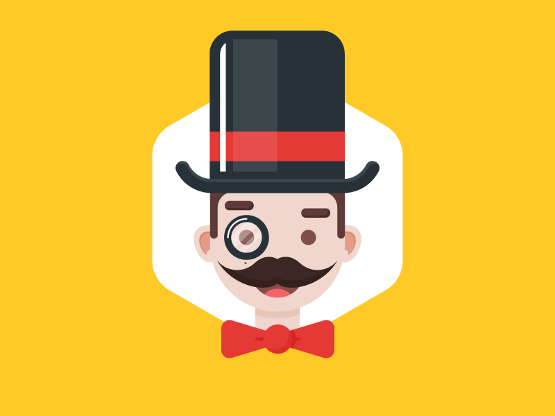 It's Monopoly time! monopoly character everyday icon