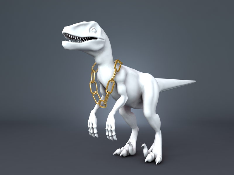 Dino swagger swag 3d
