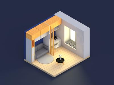My room (wroom-wroom)