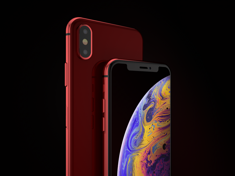 3D iPhone XS modeling 3d xs iphone
