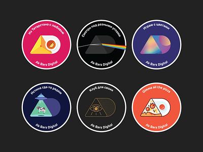 ABDT stickers illustration sticker