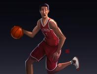 basketball player male