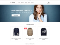 La Shoopa eCommerce Template