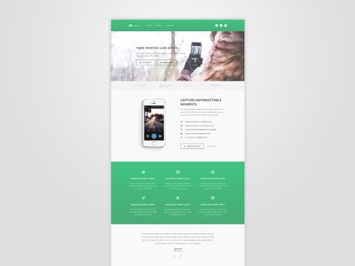 Bootstrap App Landing Page - Freebie testimonials theme template landing page app css3 html5 bootstrap freebie free