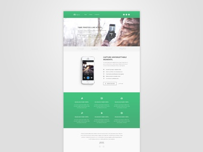 Bootstrap App Landing Page - Freebie testimonials theme template landing page app css3 html5 bootstrap freebie free