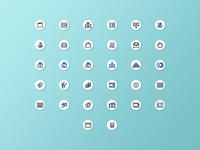 Finance icons line freebie free icons bills trading money finance