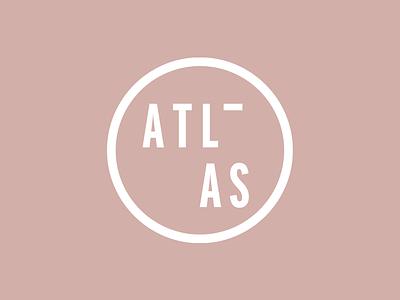 ATLAS brand concept wordmark logo brand