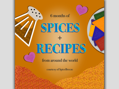 SpiceBreeze Subscription Valentines Card