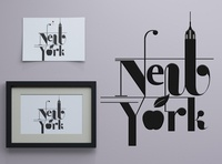 NEW YORK design new york black