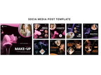 SOCIAL MEDIA POST TEMPLATE design modern clean new social media design