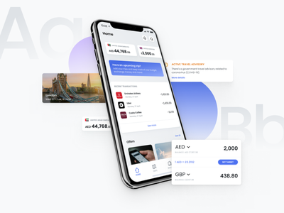 Roam - Travel spending for a cashless society travel currency digital wallet fintech mobile ux ui