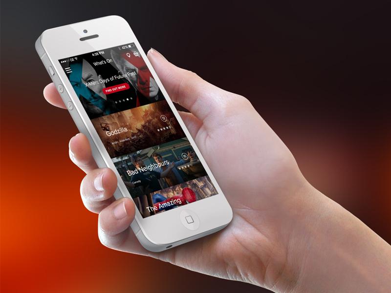 Cinema App movie cinema ticket mobile app movie house
