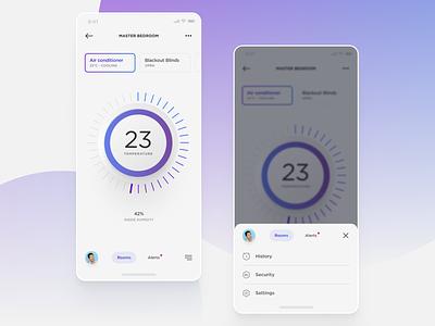 #Exercise - Smart App Concept internet of things iot smart dailyui app exploration visual ui