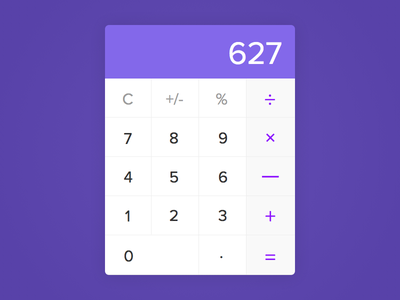 Generic Calculator - Day #004 buttons clean calculator 004 dailyui ui ux visual interface