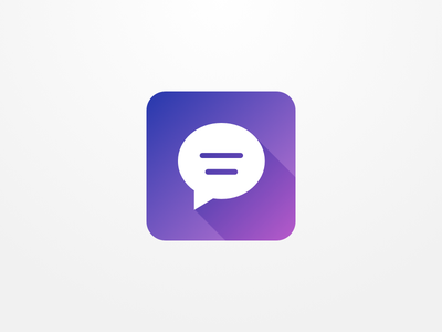 App Icon - Day #005 chat icon app icon visual ux ui dailyui 005