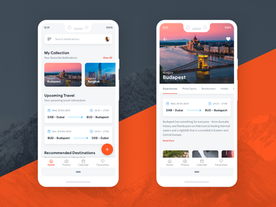 Travel App Concept android app android app exploration visual ui
