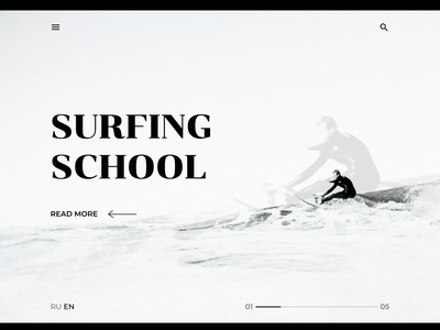 Fourth of 4 concepts about surfing school