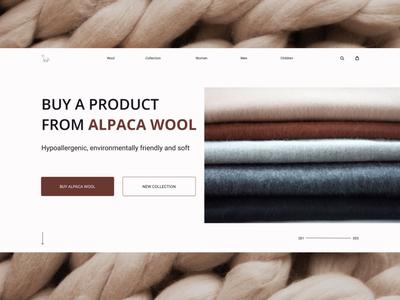 Concept Alpaca wool