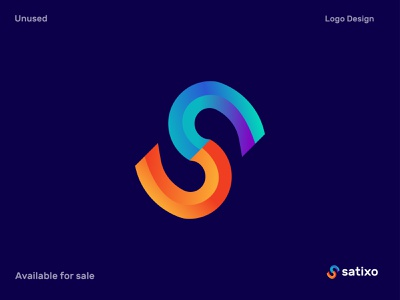 S modern letter logo design. Satixo logo mark s letter ticket lettering dribbble best shot best logo designer in dribbble logo branding vector logo designer modern logo creative logotype illustration minimal logo trends 2020 lettermark corporate branding brand identity app abstract