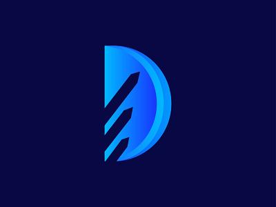 Depen  logo design /D letter / Modern logo d lettermark software logo simple modern logo logo design logo gradient logo flat design colorful branding app logo design 3d app logo logo trends 2020 abstract app brand identity