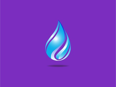 3D Colorful water drop icon colorful logo designer graphic design brand design creative logo 3d art symbol icon modern logo branding logodesign logo droplets perfection nature water 3d drops macro waterdrops