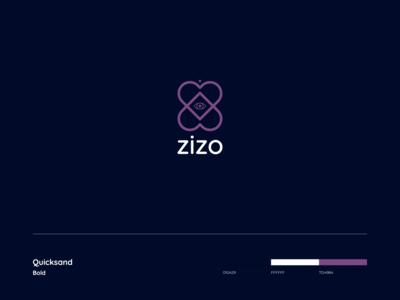 Zizo   Logo Design purple logo purple brand identity brand design branding brand event production producer icon symbol eye logo eyes eye heart logo hearts heart logo design logodesign logo