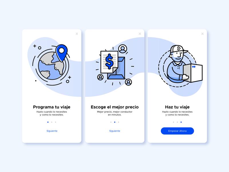 ALACARGA - App Illustrations ui flat app vector design illustration