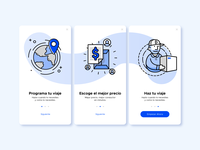 ALACARGA - App Illustrations