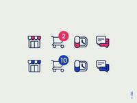 La Economia - Mobile App Icons