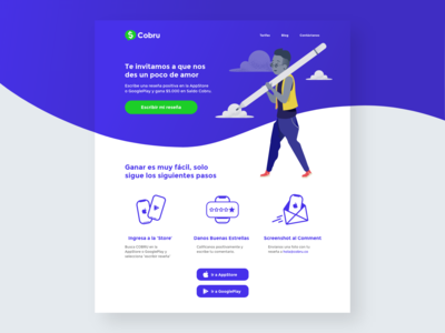 Cobru - Review - Landing Page