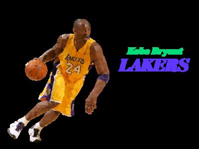 Low Poly Kobe Bryant - LAKERS