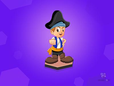 Game Character Illustration ✌ game character branding game app minimal icon illustrator animation design illustration character game art