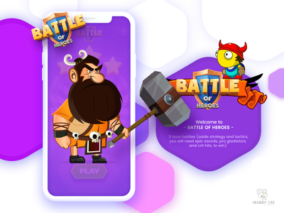 Game UI & Character  Design