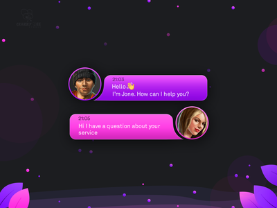 Live Chat Support Widget 💬