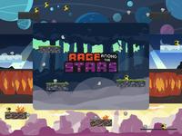 Rage Among the Stars - Pixel Art