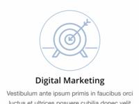 Marketing Icon Treatment