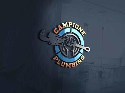 Plumbing Logo modern logo modern design unique logo minimalist logo plumbing logo