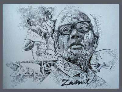 pen sketch illustration